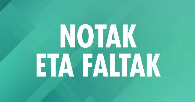 NOTAK-ETA-FALTAK